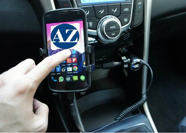 telefono in auto azeta